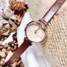Đồng hồ nữ JA-979 Julius Hàn Quốc dây da (Nhiều màu)