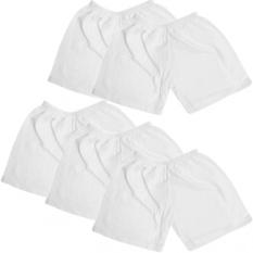 [HCM]Bộ 5 quần ngắn cotton trắng 0-3 tháng