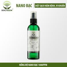 Nano Bạc – Diệt sạch nấm bệnh, vi khuẩn hoa hồng, hoa lan, thương hiệu Docneem, chai 100ml