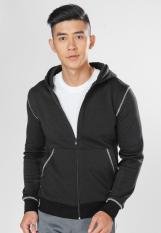 Áo khoác viền đánh bông unisex – có size lớn (big size, over size) Phúc An Uni (xám, xám trắng, xanh đen, đen)
