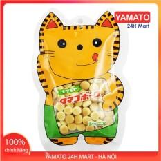 Bánh Ăn Dặm Men Sữa 50G Hình Mèo Nhật Bản, Bánh Ăn Dặm Kiểu Nhật, Bánh Dễ Tan, Chống Hóc Cho Bé