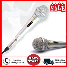 Mic Chống Hú, Chống Rè, Micro Karaoke XINGMA AK-319, mic có dây, mic hát karaoke chuyên nghiệp, Bắt Âm Tốt, Giọng Hay – Bảo Hành 12 Tháng Bởi Mars Store