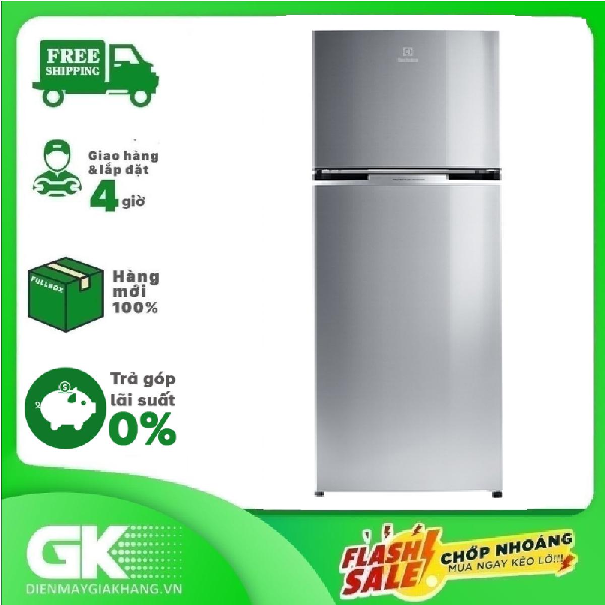 [GIAO HÀNG 2 – 15 NGÀY, TRỄ NHẤT 30.09] [Trả góp 0%]Tủ lạnh Electrolux ETB3400J-A 320 lít Inverter