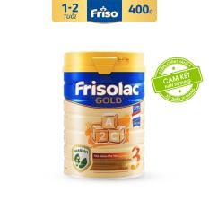 [Freeship toàn quốc] Sữa Bột Friso Gold 3 400g cho trẻ từ 1-2 tuổi – Cam kết HSD ít nhất 10 tháng – Tốt cho tiêu hóa & đề kháng tốt, giúp bé khỏe mạnh từ bên trong, thỏa sức khám phá để phát triển toàn diện