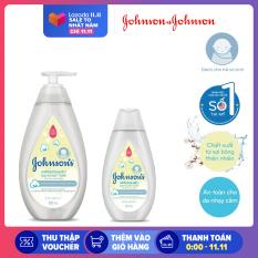 Sữa tắm gội toàn thân mềm mịn Johnson' baby bath Cotton touch 500ml Tặng Sữa tắm gội cùng loại 200ml – 540019975