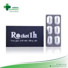 Rocket 1h – Hộp 6 Viên Giúp Hỗ trợ sức khỏe nam giới