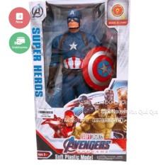 [Hộp đẹp][Đèn nhạc] Hộp đồ chơi siêu anh hùng captain dành cho bé