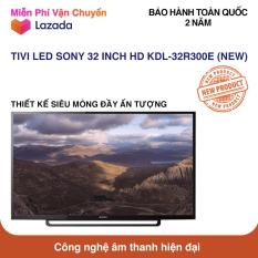 Tivi Led Sony 32 inch HD – Model 32R300E (Đen) NEW 100%