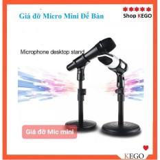 Chân giá đỡ kẹp Micro Mini Để Bàn phụ vụ livestream, hội họp..vv
