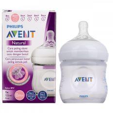 Bình sữa Philips Avent Natural 60ml/ 125ml/ 260ml/ 330ml bằng nhựa PP, không có BPA