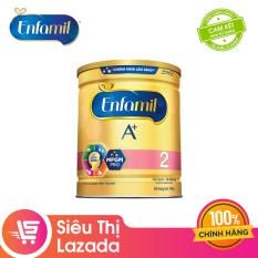 [Siêu thị Lazada] Sữa bột Enfamil 2 cho trẻ từ 6-12 tháng tuổi (400g) – Cam kết HSD còn ít nhất 10 tháng