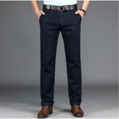 Quần kaki nam trung niên ống đứng vải kaki mịn nhiều màu