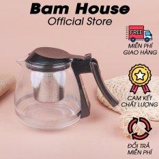 Bình trà và pha cà phê thủy tinh cao cấp Bam House có dung tích 750ml AP01 – Bam House