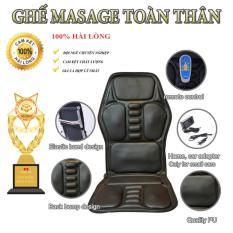 Nệm ( đệm) massage toàn thân, ghế massage toàn thân giảm căng thẳng và mệt mỏi, lưu thông khí huyết, giảm đau nhức cơ thể