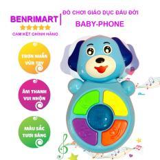 Đồ Chơi Giáo Dục Đầu Đời Cho Trẻ Từ 6 Tháng Tuổi,Baby Phone Antona,Giúp Bé Phát Triển Giác Quan Và Kỹ Năng Cầm Nắm