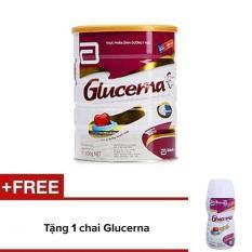 Bộ 1 lon sữa bột Glucerna Hương Vani 850g + 1 chai sữa nước Glucerna hương Vani 220ml