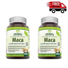 Bộ 2 sâm MACA tăng cường sức khỏe sinh lý nam nữ 250 viên
