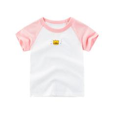 [CHÍNH HÃNG 27KIDS] Áo thun bé gái 27KIDS chất cotton mềm mịn AT7