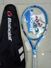 Vợt tennis Babolat 280g Xanh dương tặng căng cước quấn cán và bao vợt – ảnh thật sản phẩm