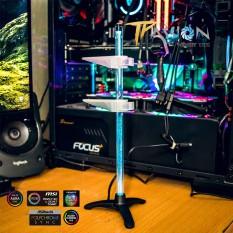 Giá đỡ chống xệ VGA (Card màn hình) SD-400 LED RGB và ARGB – Đồng bộ (Sync) Main/Hub, chắc chắn, màu đẹp – Hub remote A-RGB 5V