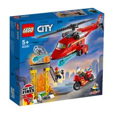 MYKINGDOM – LEGO CITY Trực Thăng Cứu Hỏa 60281