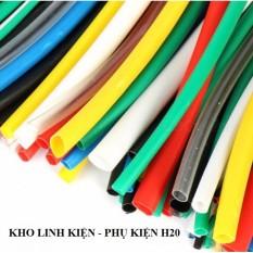 [XẢ KHO 3 NGÀY] 2m-Ống dây gen co nhiệt cách điện nhiều màu sắc kích cỡ Lakisan|An toàn-thẩm mỹ-đơn giản cho mối nối mối hàn-Giải pháp của các kỹ thuật viên