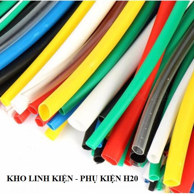 [XẢ KHO 3 NGÀY] 2m-Ống dây gen co nhiệt cách điện nhiều màu sắc kích cỡ Lakisan|An toàn-thẩm mỹ-đơn giản...