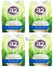 [TẶNG NGAY VOUCHER 80K] Bộ 4 Sữa tươi dạng bột nguyên kem A2 Úc túi 1kg (Hàng nhập khẩu)