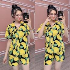 Đồ bộ mặc nhà Pijama in hình trái cây