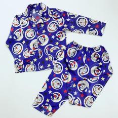 Pijama phi bóng cho bé hình Doraemon 10-40kg