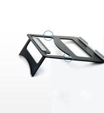Giá đỡ, đế nhôm cao cấp hỗ trợ tản nhiệt cho Macbook-Laptop