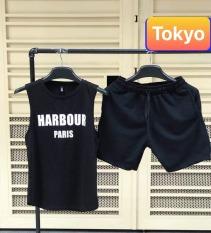 BỘ BA LỖ THỂ THAO HARBOUR PARIS TẬP GYM VẢI THUN LẠNH NHẬP KHẨU HOKKAIDO NHẬT BẢN SIÊU THOÁNG MÁT CAO CẤP – TOKYO FASHION