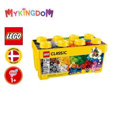 Đồ Chơi Lắp Ráp LEGO CLASSIC Thùng Gạch Trung Classic Sáng Tạo 10696 Cho Bé Trên 4 Tuổi (484 Chi Tiết)