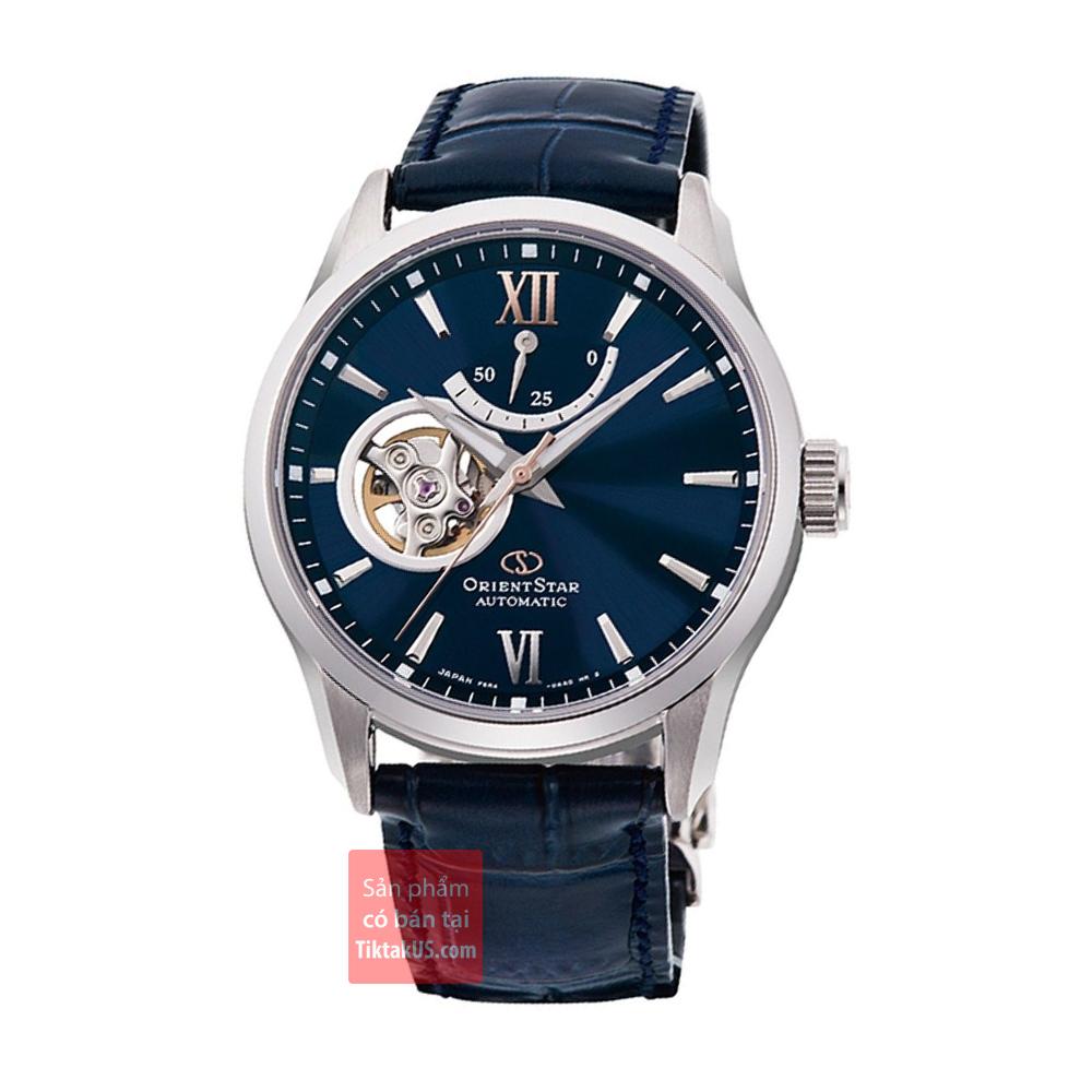 Đồng hồ nam Orient Star RE-AT0006L00B Made in Japan đường kính 39mm, độ chịu nước 10ATM, máy cơ, kính Sapphire