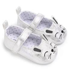 Giày tập đi búp bê cho bé gái 0-18 tháng hình thỏ đáng yêu BBShine – TD18