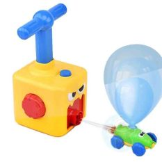 Raffer Đồ chơi xe hơi bóng bay bơm bóng đua xe phát triển khả năng vận động và tư duy của trẻ