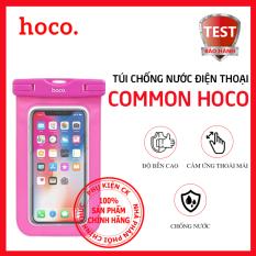 Túi đựng điện thoại chống nước Hoco COMMON, tương thích với thiết bị dưới 6.5 inch