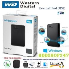Ổ cứng di động WD 250GB,320GB,500GB USB 3.0,MRICRO USB , TYPE-C + tặng túi chống sốc