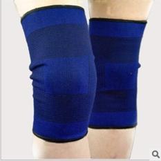 Bó gối thể thao – bảo vệ đầu gối co giãn tránh chấn thương Xanh – 1 đôi