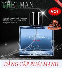 [ SIÊU HOT] Nước hoa nam cao cấp Ashixuan hương thơm nhẹ kéo dài, nước hoa nam mạnh mẽ cuốn hút,( chai 50ml)