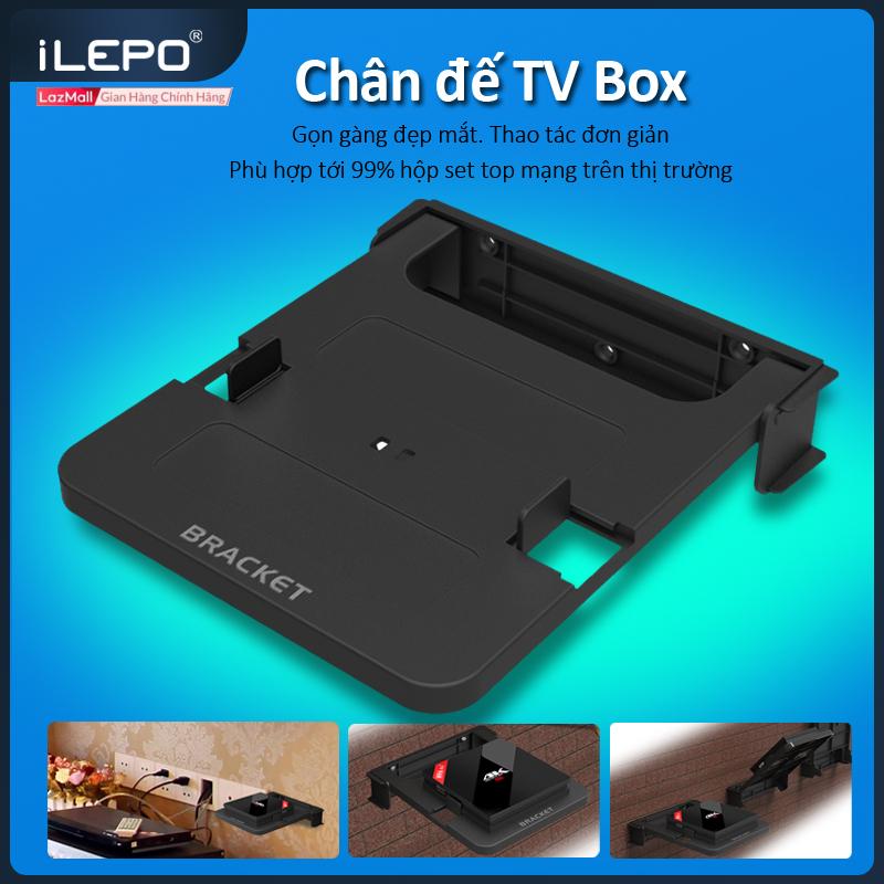 Bộ Giá Đỡ Treo Tường cho TV Box,bộ định tuyến, bộ chuyển đổi tín hiệu, có sẵn ốc bắt tường,...