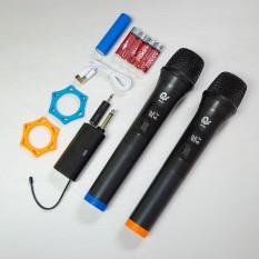 Micro Không Dây Karaoke, Micro đôi, Chuyên Dành Cho Mọi Loa Kéo, Âm Ly, Tần Số 50, Hát Nhẹ Và Êm, Phù Hợp Cho Những Bữa Tiệc Dã Ngoại, Sản Phẩm Bảo Hành Trọn Bộ 12 Tháng