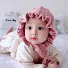 Mũ len bèo kiểu cô gái Hà Lan cho bé gái M-16