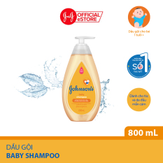 Dầu gội dịu nhẹ cho bé Johnson's baby shampoo 800ml – 100980002