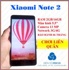 Điện thoại cảm ứng giá rẻ Xiaomi Redmi Note 2 RAM 2GB/ROM16GB