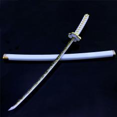 [THÉP ĐẶC] Mô hình Nhật Luân kiếm ZENITSU sấm sét Kimetsu no Yaiba Demon Slayer Nichirin nichirinto Tanjirou kamado thép đặc katana nhật thanh gươm diệt quỷ
