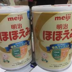 Sữa Meiji số 0-1 tuổi. Móp hộp