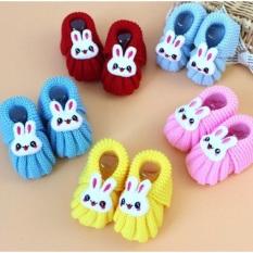 Giày tập đi len mẫu thỏ