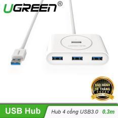 Hub USB 3.0 4 cổng tốc độ 5Gbps UGREEN CR113 dài 50cm 20282 – Hãng phân phối chính thức