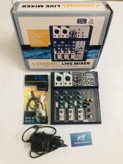#ĐỈNH CAO ÂM NHẠC# Bàn trộn âm thanh mixer F4-USB, Mixer Yamaha F4-USB + Nguồn 48V + Tặng dây AV + Bảo hành 6 tháng 1 đổi 1 tại Phụ kiện Khánh Linh